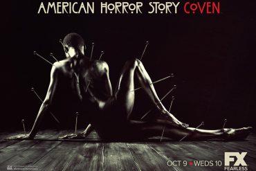 Poster de la serie de terror American Horror Story Coven