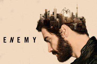 Poster de Enemy dirigido por Denis Villeneuve y protagonizado por Jake Gyllenhaal, Mélanie Laurent, Sarah Gadon