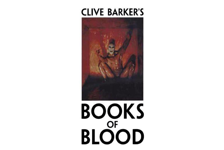 Portada de Libros de Sangre (Books of Blood) escrito por Clive Barker