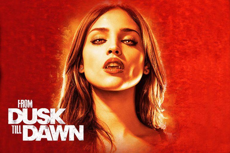 Poster de la serie de vampiros From Dusk Till Dawn