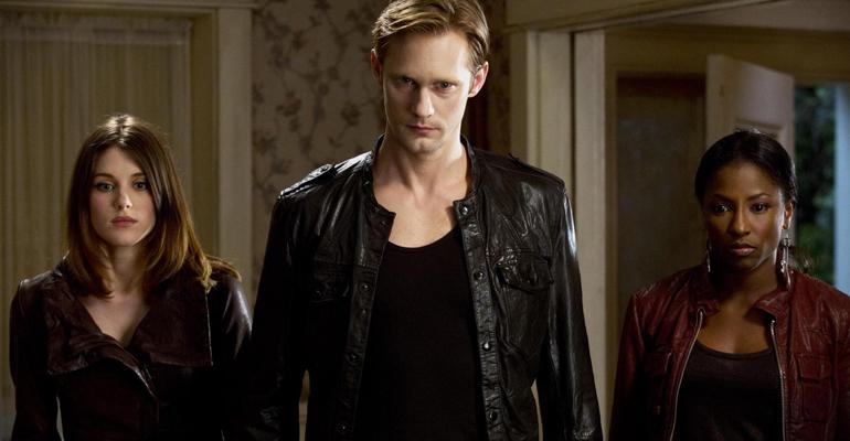 Escena de la serie de vampiros True Blood