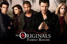 Poster de la serie de vampiros The Originals
