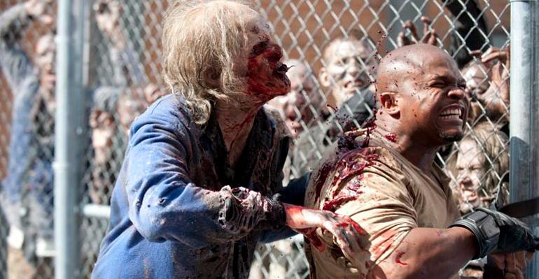 Escenas de The Walking Dead capítulo Killer Within, Temporada 3 Episodio 4, protagonizada por Andrew Lincoln (Rick Grimes), Norman Reedus, Melissa McBride