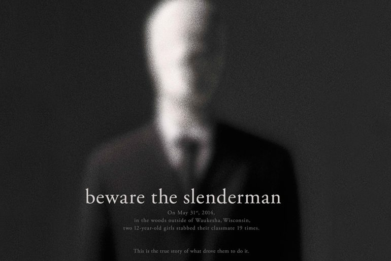 Poster del documental Beware the Slenderman de HBO