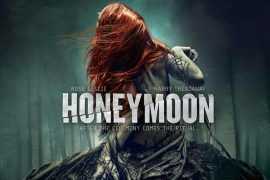 Rose Leslie en la portada de la película Honeymoon