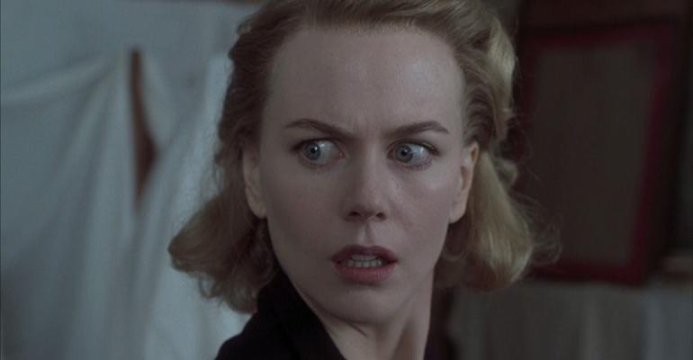 Escena de la película española The Others protagonizada por Nicole Kidman. Especial cine español.