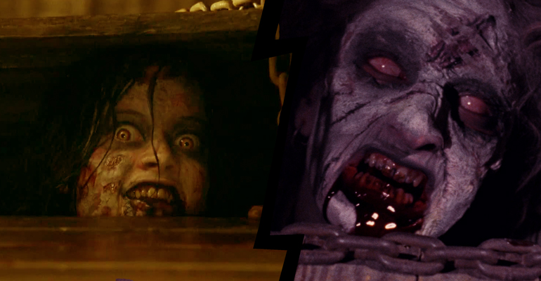 The Evil Dead (1981) vs Evil Dead (2013), en un tema de Be Afraid de remakes de terror.
