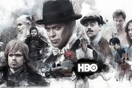 Poster de series del canal de cable HBO