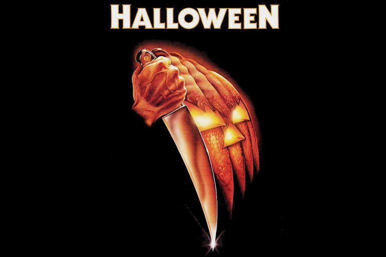 Poster de Halloween (1978) dirigida por John Carpenter y protagonizada por Donald Pleasence, Jamie Lee Curtis, Tony Moran. Especial de Be Afraid de Guía Imperdibles de Halloween.