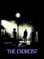 Poster de la película The Exorcist dirigida por William Friedkin y protagonizada por  Ellen Burstyn, Max von Sydow, Linda Blair