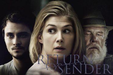 Poster de la película protagonizada por Rosamund Pike, Return to Sender