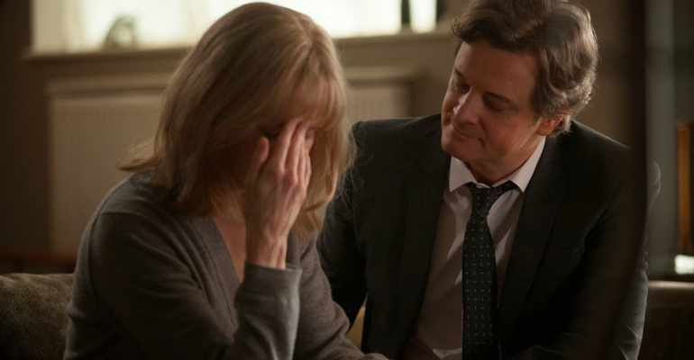 Escena de la película Before I go to sleep protagonizada por Nicole Kidman, Colin Firth y Mark Strong