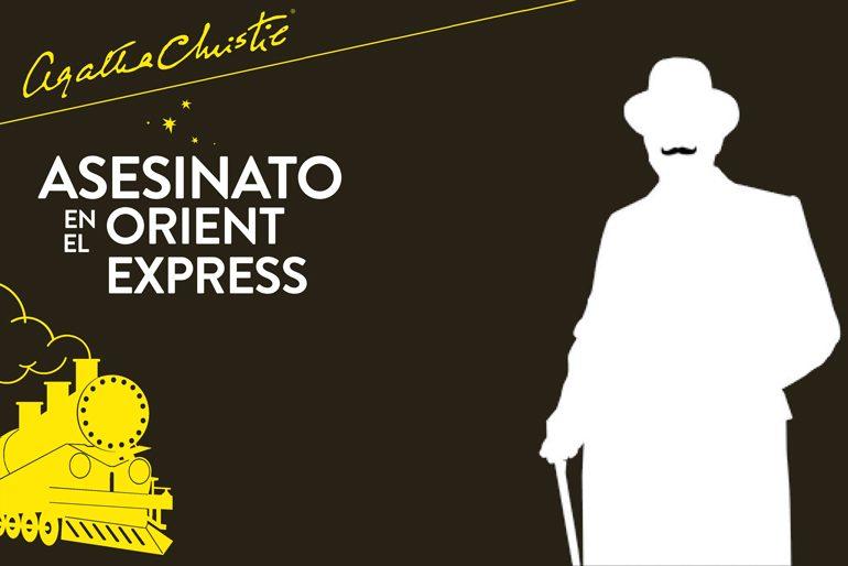 Portada del libro Asesinato en el Orient Express escrito por Agatha Christie