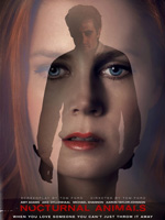 Poster de Nocturnal Animals dirigida por  Tom Ford y protagonizada por Amy Adams, Jake Gyllenhaal, Michael Shannon