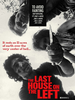 Poster The Last House on the Left protagonizada por Sandra Peabody, Lucy Grantham, David Hess y dirigida por Wes Craven