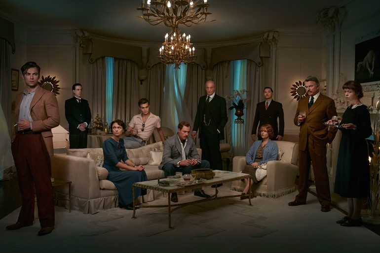 Poster de la mini serie And Then There Were None basada en la novela de Agatha Christie