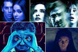 Poster de especial Be Afraid de películas de terror de Bollywood