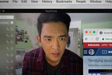Escena de Searching protagonizada por John Cho, Debra Messing, Joseph Lee y dirigida por Aneesh Chaganty